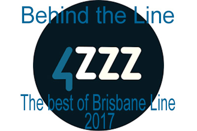 Behind the Line_4zzz logo
